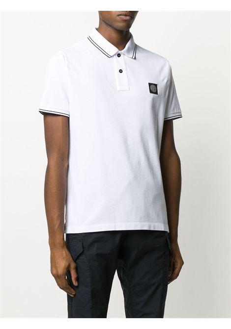 White Polo shirt STONE ISLAND | POLO | MO101522S18V1001