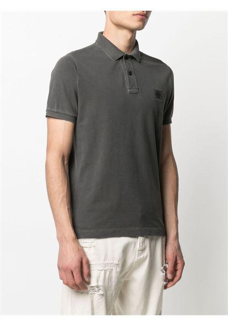 Grey Polo shirt STONE ISLAND | POLO | MO741522S67V0065