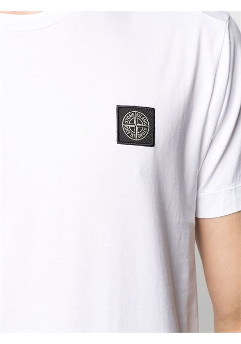 White t-shirt STONE ISLAND | T-SHIRT | MO741524113V0001