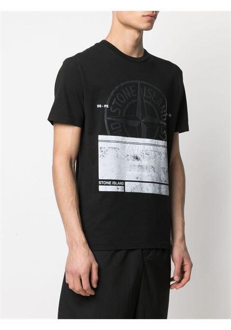 Black t-shirt  STONE ISLAND | T-SHIRT | MO74152NS65V0029
