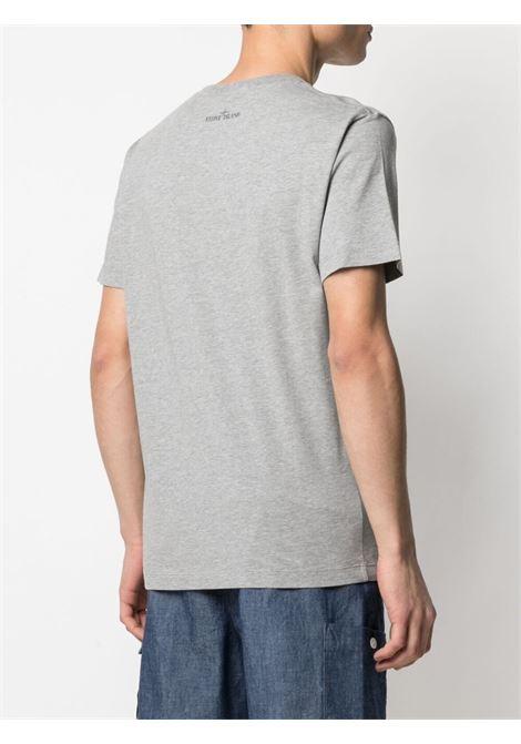 Grey t-shirt STONE ISLAND | T-SHIRT | MO74152NS65V0M64