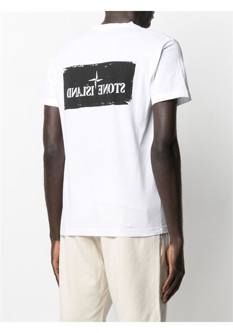 White t-shirt STONE ISLAND | T-SHIRT | MO74152NS80V0001