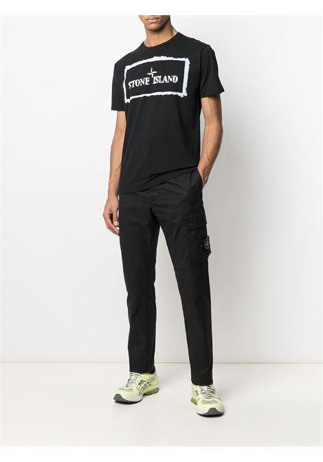 T-Shirt nera STONE ISLAND   T-SHIRT   MO74152NS80V0029