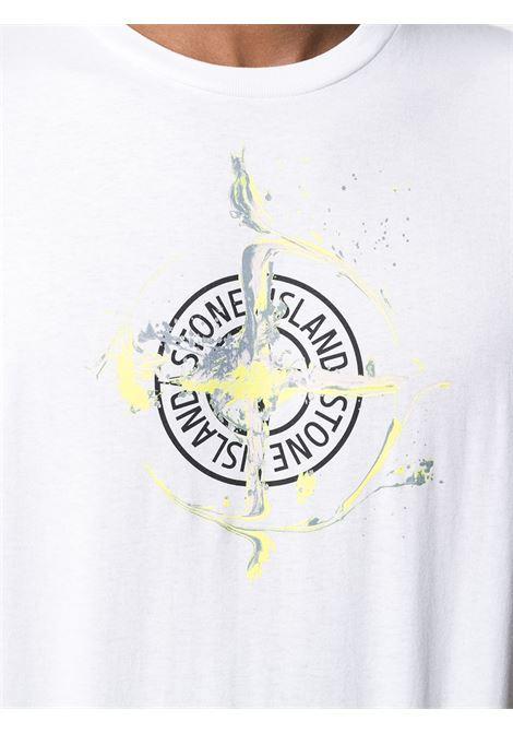 White t-shirt STONE ISLAND | T-SHIRT | MO74152NS83V0001