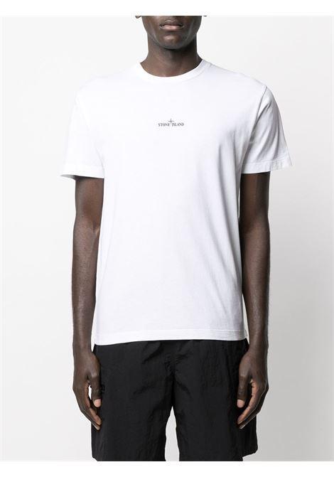 T-shirt bianca STONE ISLAND   T-SHIRT   MO74152NS85V0001