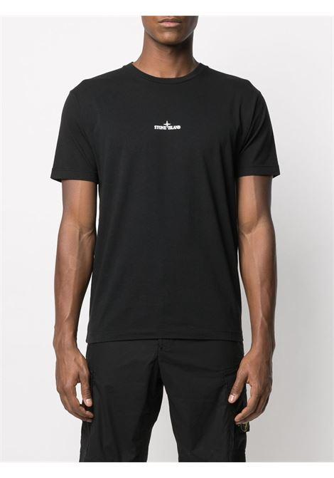 T-shirt nera STONE ISLAND   T-SHIRT   MO74152NS85V0029