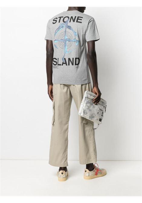 Grey T-shirt STONE ISLAND |  | MO74152NS85V0M64