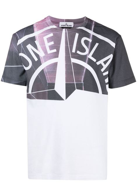 White t-shirt STONE ISLAND | T-SHIRT | MO74152NS86V0001