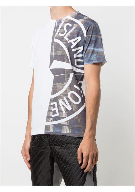White t-shirt STONE ISLAND | T-SHIRT | MO74152NS88V0001