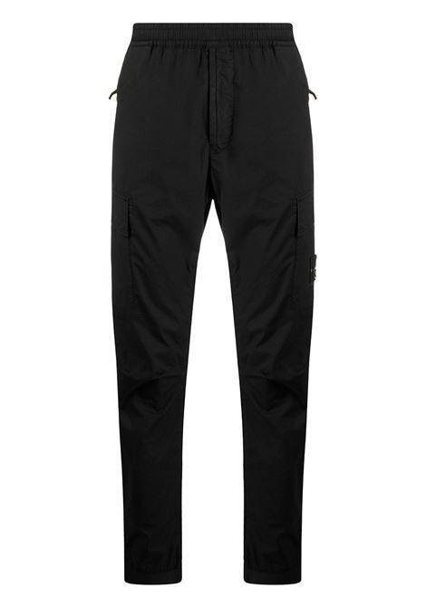 Black trousers STONE ISLAND | TROUSERS | MO741531303V0029