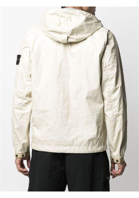 White jacket STONE ISLAND | JACKETS | MO741540523V0093