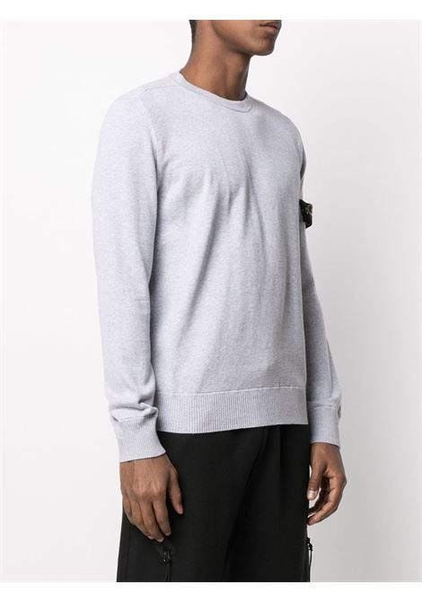 Grey sweatshirt STONE ISLAND | SWEATSHIRTS | MO7415504B2V0M64