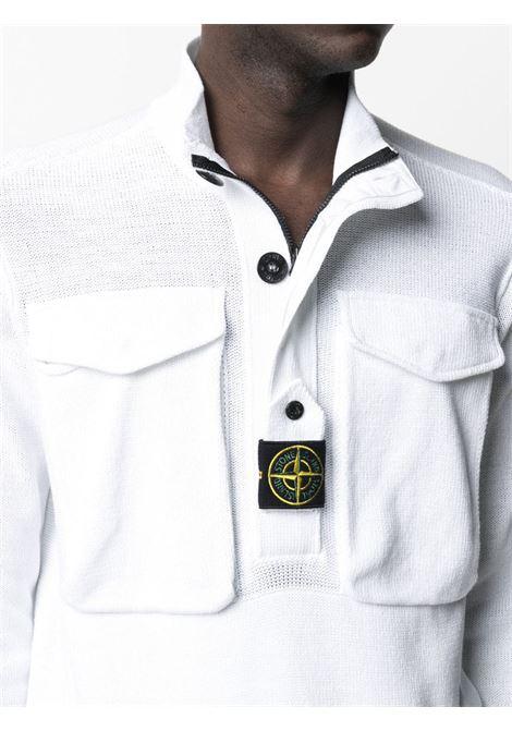 White sweatshirt STONE ISLAND |  | MO7415542D4V0001