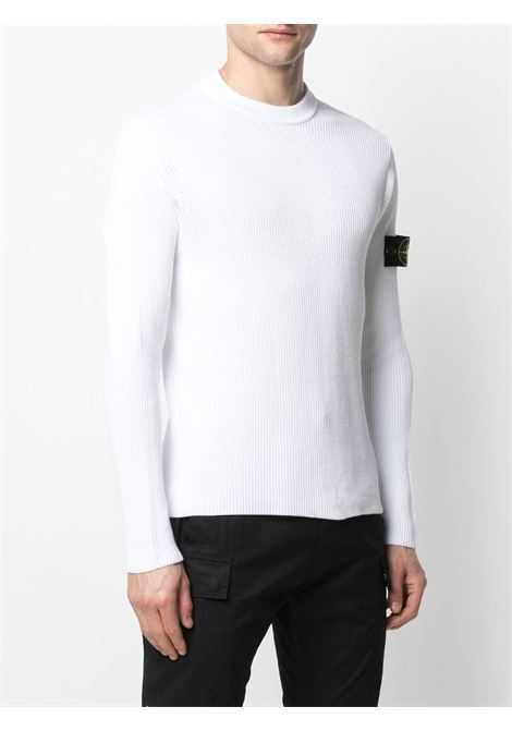 White sweatshirt STONE ISLAND |  | MO7415552D8V0001