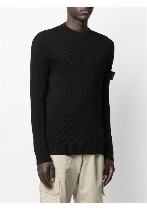 Black sweatshirt STONE ISLAND |  | MO7415552D8V0029