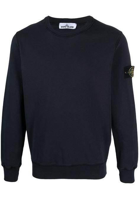 Black Sweatshirt STONE ISLAND | MO741563051V0020