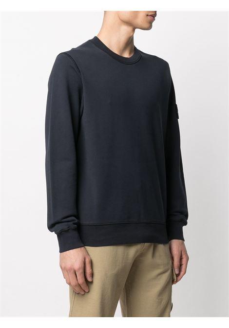 Black Sweatshirt STONE ISLAND | SWEATSHIRTS | MO741563051V0020