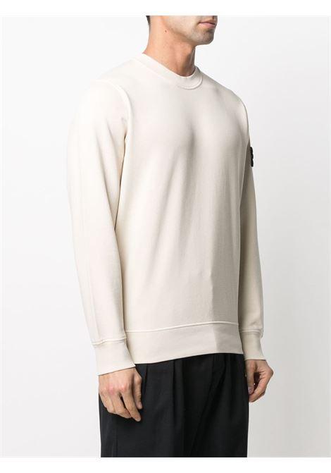 Ecru sweatshirt STONE ISLAND | SWEATSHIRTS | MO741563051V0093