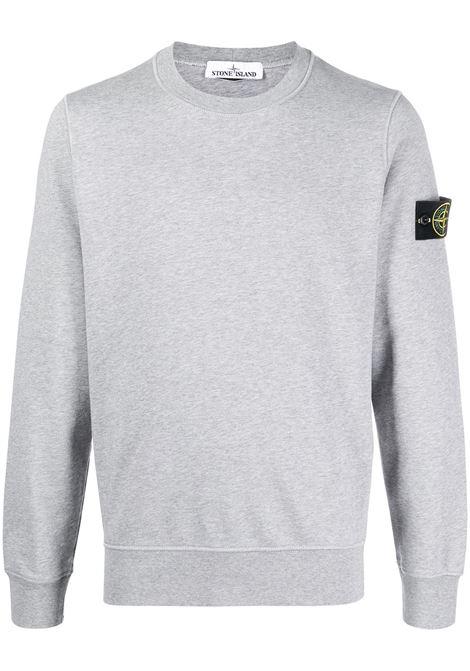 Grey sweatshirt STONE ISLAND | MO741563051V0M64