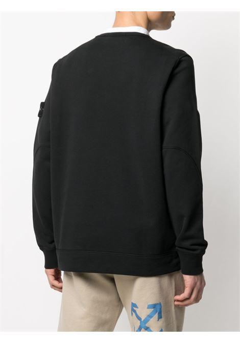 Black t-shirt STONE ISLAND | SWEATSHIRTS | MO741563451V0029