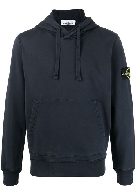 Blue sweatshirt STONE ISLAND |  | MO741564151V0020