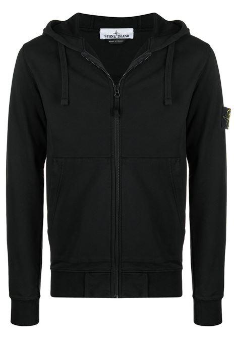 Black sweatshirt STONE ISLAND | SWEATSHIRTS | MO741564251V0029