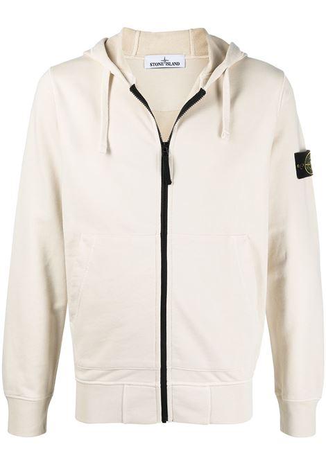 White sweatshirt STONE ISLAND |  | MO741564251V0093