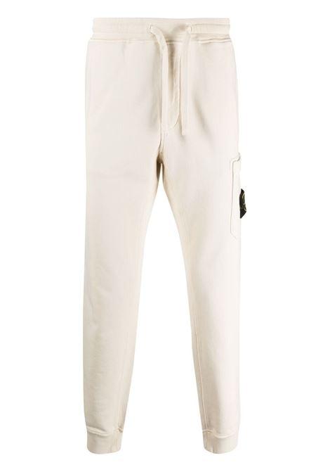 White track pants STONE ISLAND | TROUSERS | MO741564551V0093