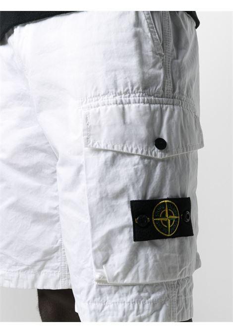 White shorts STONE ISLAND | BERMUDA | MO7415L07WAV0001