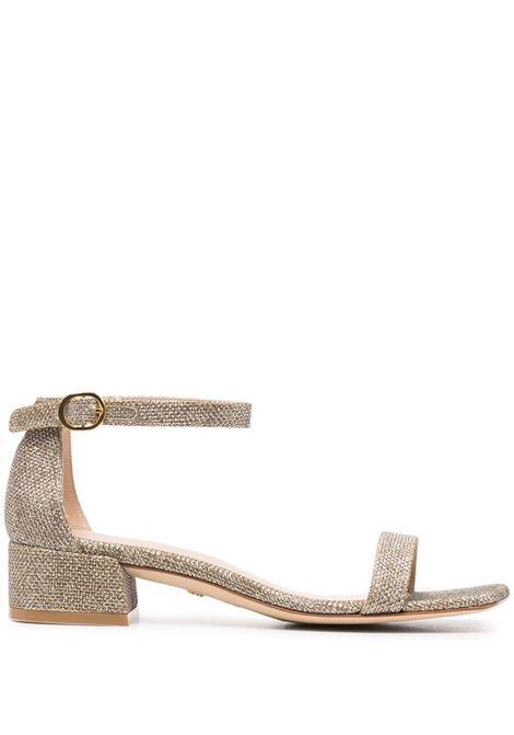 Sandalo gold STUART WEITZMAN | SANDALI | NUDISTJUNESQUARENOIPLA