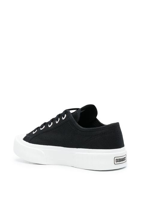 Sneakers nera/rossa SUPERGA X DSQUARED | SNEAKERS | SNW0133003000012124