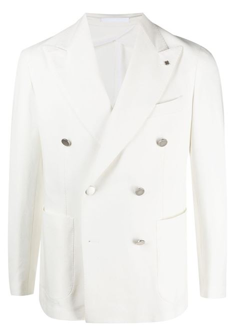 giacca bianca TAGLIATORE 0205 | GIACCHE | 1SMC20K94UEG003X1273