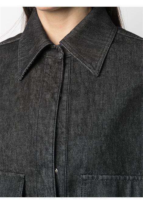 Camicia nera THE ATTICO | CAPPOTTI | 211WCC16D013100