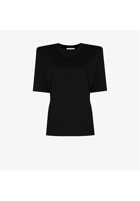 T-shirt nera THE ATTICO | T-SHIRT | 211WCT04C023100