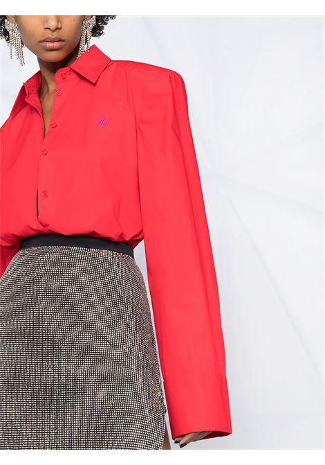 Camicia rossa THE ATTICO | CAMICIE | 211WCT34C017010