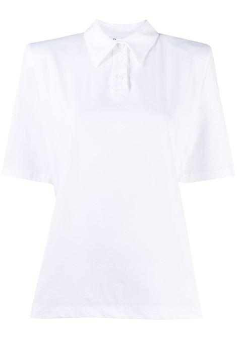 Polo bianca THE ATTICO | T-SHIRT | 211WCT36C023001