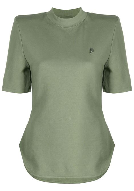 T-shirt verde THE ATTICO | T-SHIRT | 212WCT49C029145