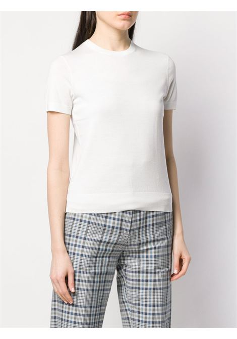 White jumper THEORY | SWEATER | I1211701C05