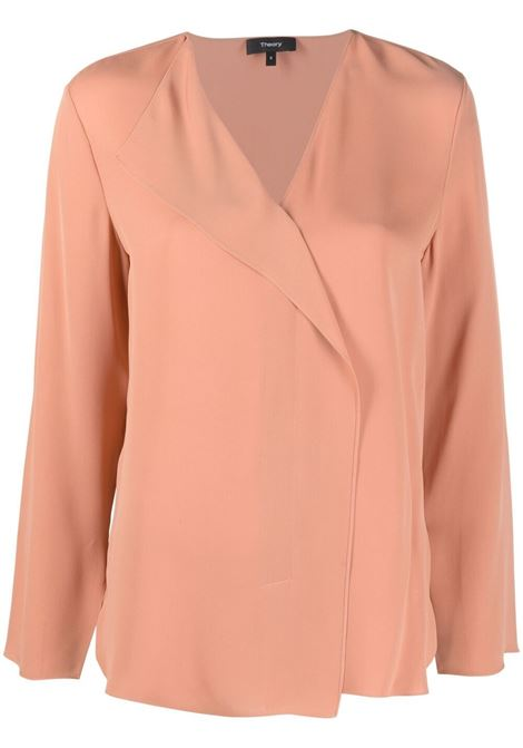Pink blouse THEORY | JERSEYS | K1102508ZXN