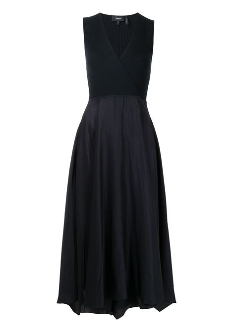 Navy dress THEORY | DRESS | L0106621G0F