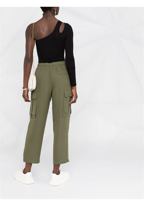 Green trousers THEORY | TROUSERS | L0202218WY1