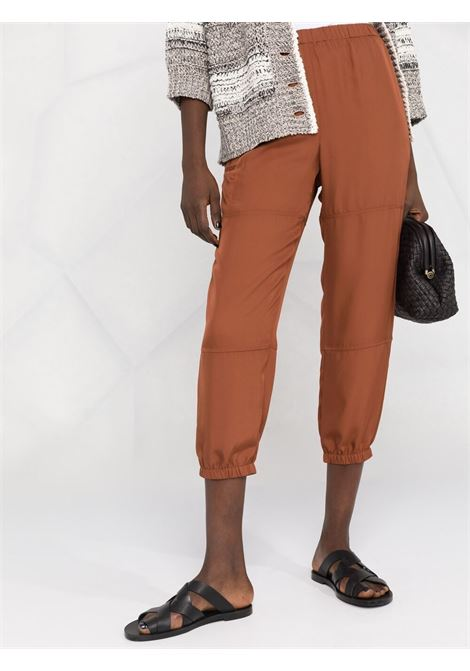 Brown trousers THEORY | TROUSERS | L0209213QAI