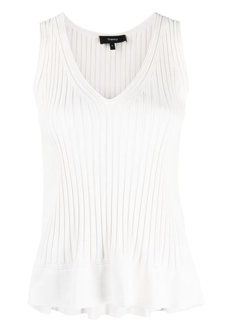 White top THEORY | TANK TOPS | L0216709C05
