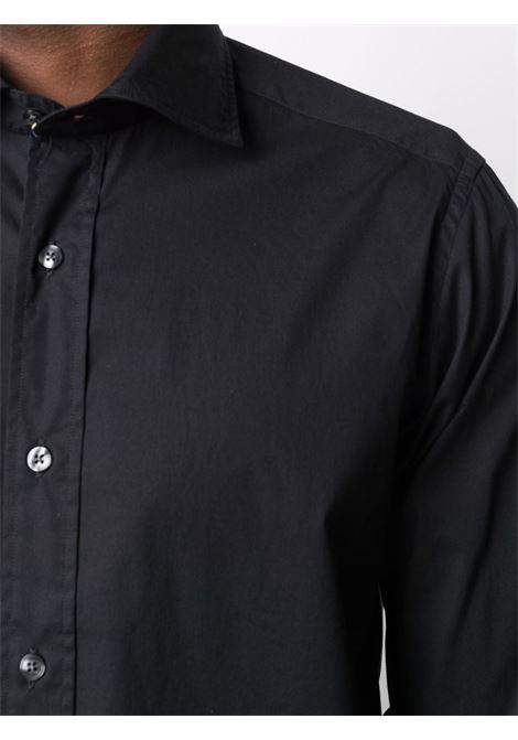 Black shirt TINTORIA MATTEI | SHIRTS | AS8TYBUY1