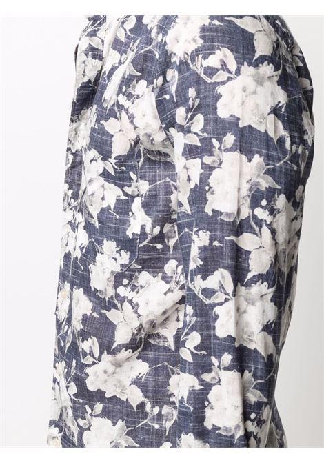Camicia blu/bianco TINTORIA MATTEI | CAMICIE | RKDN8RFD1