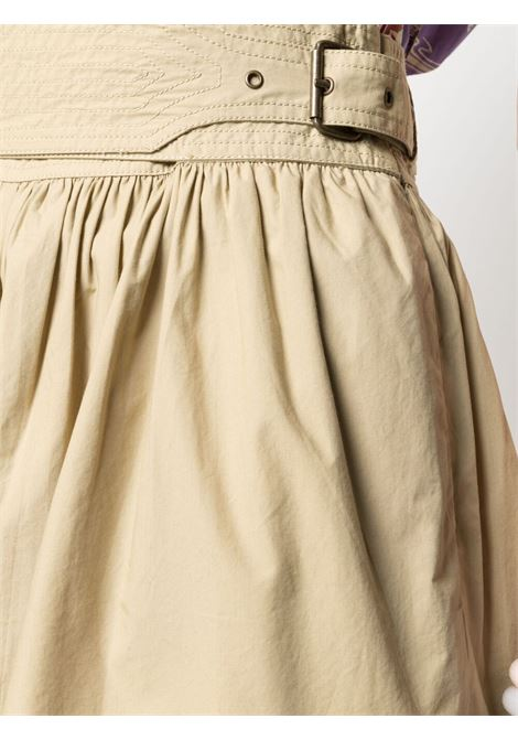 Shorts beige ULLA JOHNSON | SHORTS | SP210410KHA