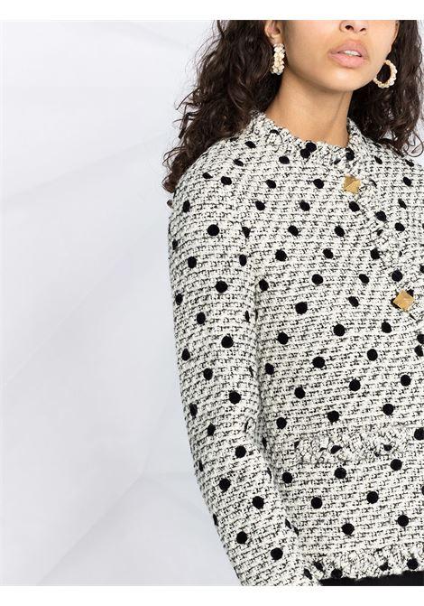 White/black jacket VALENTINO PAP |  | CE27569M0AN