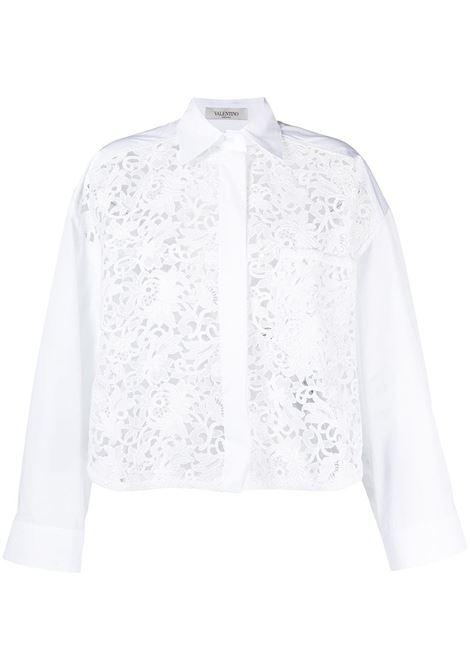 Camicia bianca VALENTINO PAP | CAMICIE | VB0AB2B64HP0BO