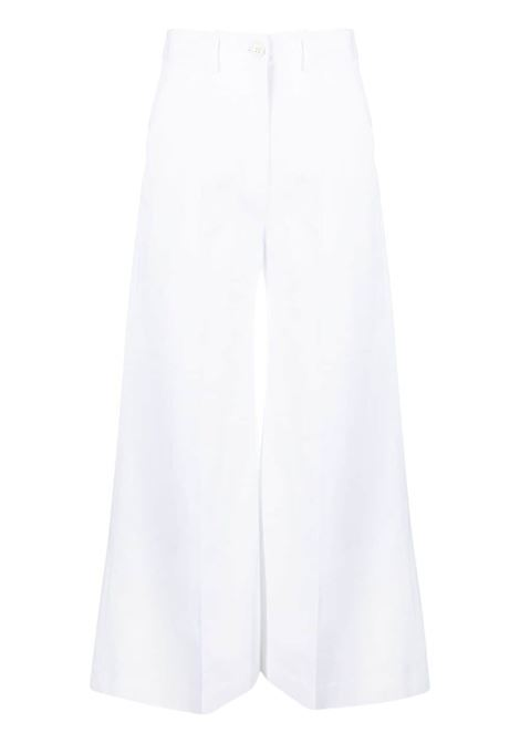 Pantalone bianco VALENTINO PAP | PANTALONI | VB0RB4A06C90BO