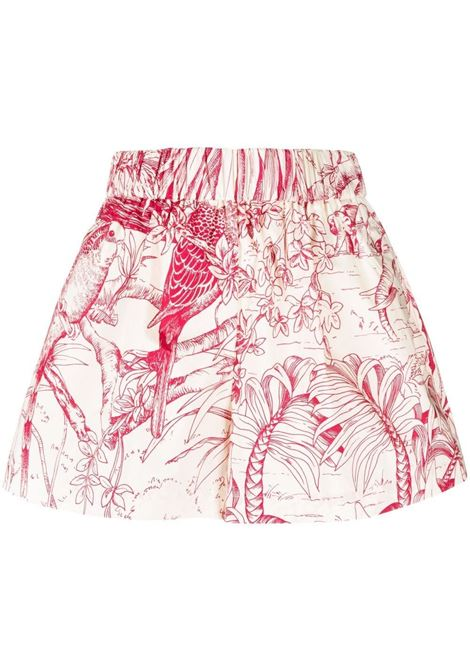 Short rosa VALENTINO RED | SHORTS | RFE955SEA03